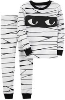 Carter's Baby Boy Halloween Mummy Top & Bottoms Pajama Set