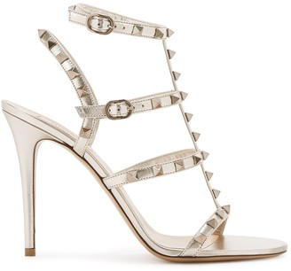 Valentino Garavani Rockstud 105 Leather Sandals