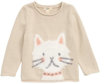 Peek Aren't You Curious Kitty Sweater