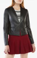 BCBGMAXAZRIA Cruz Faux-Leather Blazer