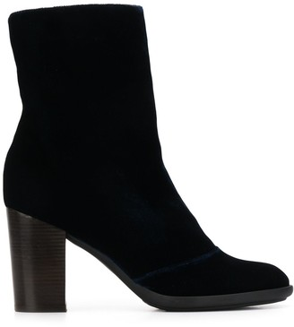 Chie Mihara Fargo silk velvet boots