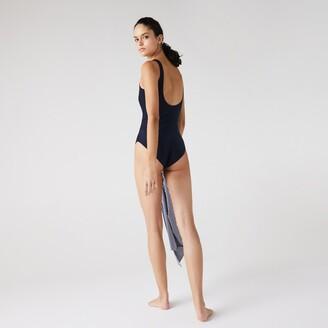 Lacoste Women's One-Piece Swimsuit