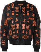 Marcelo Burlon County of Milan 'Alpha MA-1' bomber jacket