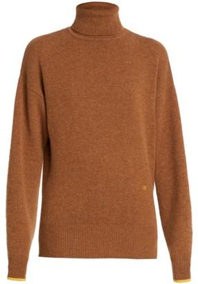 Victoria Beckham Poloneck Stretch-Cashmere Knit Sweater