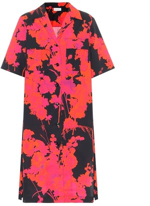 Dries Van Noten Floral cotton shirt dress