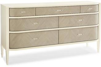 Caracole Vilma Dresser - Ivory/Pale Gray