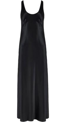 Michael Lo Sordo Scoop Neck Slip Dress With Side Slit