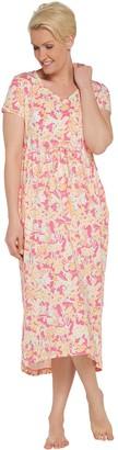 Stan Herman Spring Bloom Hi-Low Dress