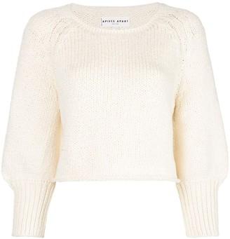 Apiece Apart cropped knit jumper