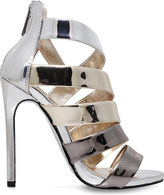 Carvela Gleam metallic sandals