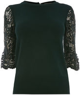 Oasis Lace fluted sleeve
