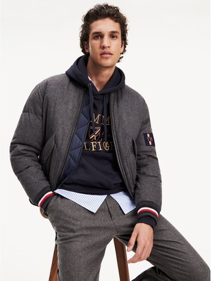 Tommy Hilfiger Icon Wool Bomber Jacket