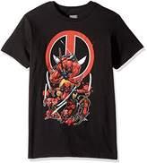 Marvel Men's Deadpool Family Blades T-Shirt