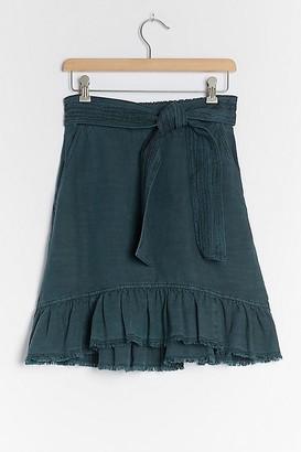 Pilcro And The Letterpress Pilcro Amora Ruffled Mini Skirt