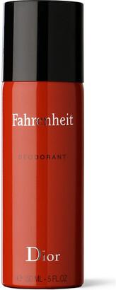 Christian Dior Fahrenheit natural spray deodorant