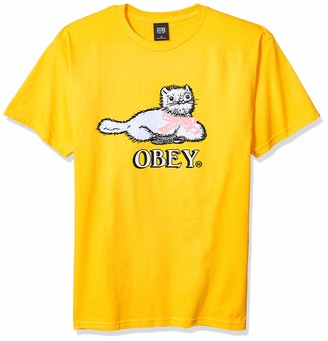 Obey Men's Kitty Basic SS TEE