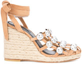 Alexander Wang Taylor wedge sandals - women - Leather - 36