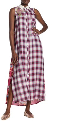 Aratta Colorados Court Printed Maxi Dress