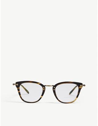 Oliver Peoples Keery Havana square glasses