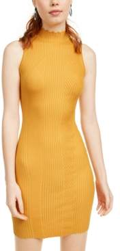 Almost Famous Crave Fame Juniors' Ribbed Bodycon Dress