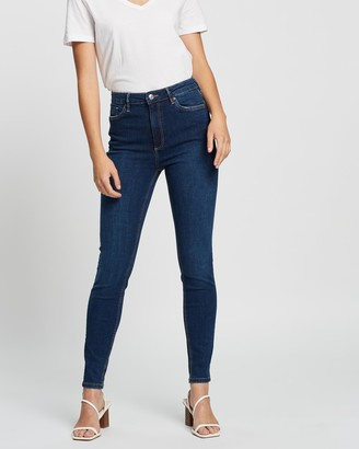 Mng Women's Blue Skinny - Noa Jeans - Size 32 at The Iconic