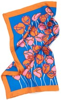 J.Mclaughlin Silk Scarf in Antibes Tulip