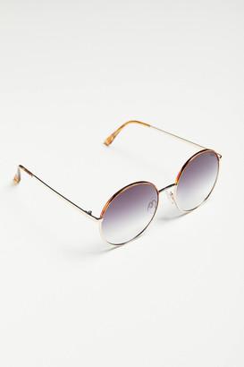 Penny Oversized Round Sunglasses