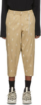 BEIGE Mastermind World mastermind WORLD Skull Beach Lounge Pants