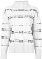 3.1 Phillip Lim striped turtle-neck sweater