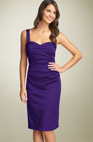Maggy Boutique Stretch Charmeuse Sheath Dress