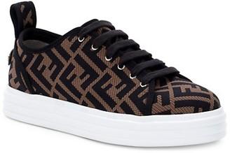 Fendi FF Mesh Platform Sneakers