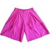 Vivienne Westwood Pink Wool Shorts for Women