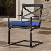 Crate & Barrel Regent Spring Chair with Sunbrella ® Cushion