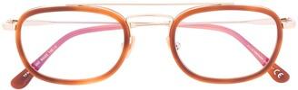 Tom Ford Oval-Frame Glasses