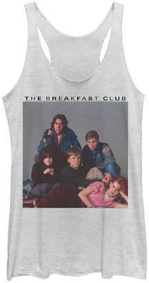 Fifth Sun Breakfast Club Group Portrait Old School Tri-Blend Racer Back Tank