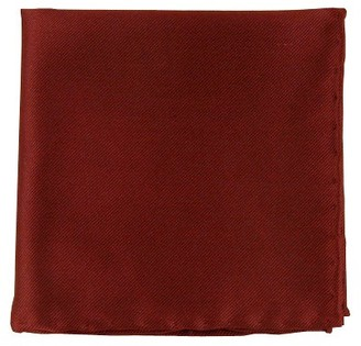 Proenza Schouler The Tie BarThe Tie Bar Burgundy Solid Twill Pocket Square