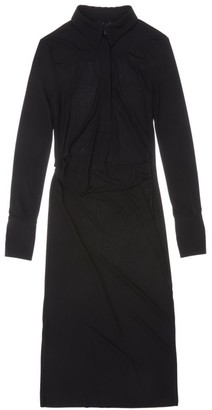 Helmut Lang Polo Midi Dress