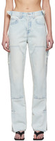 Off-White Off White Blue Carpenter Jeans