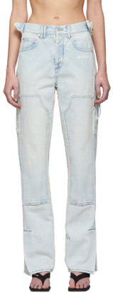 Off-White Blue Carpenter Jeans