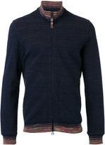Missoni zipped up sweatshirt - men - Cotton - M