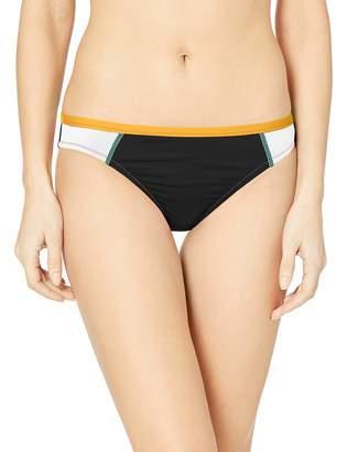 Hobie Junior's Ruffled Solid Hipster Bikini Bottom Swimsuit
