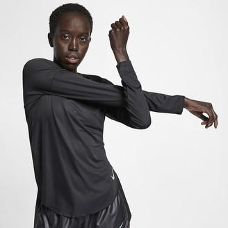 Nike Women's Long-Sleeve Running Top City Sleek