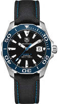 Tag Heuer way211bfc6363 aquaracer stainless steel black gents