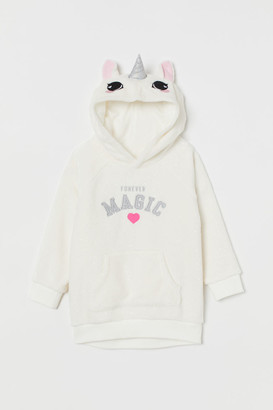H&M Fleece hooded top