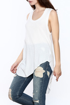 Frank And Eileen White Muscle Tunic Top