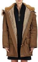 Marc Jacobs Women's Faux-Fur-Trimmed Tech-Twill Parka