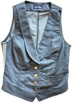 Jean Paul Gaultier Blue Cotton Jacket for Women Vintage
