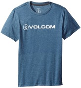 Volcom Euro Pencil Short Sleeve Tee (Big Kids)