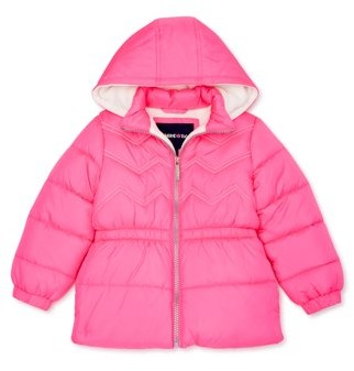 Limited Too Toddler Girl Contrast Stitch Winter Jacket Coat