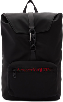 Alexander McQueen Black Urban Backpack